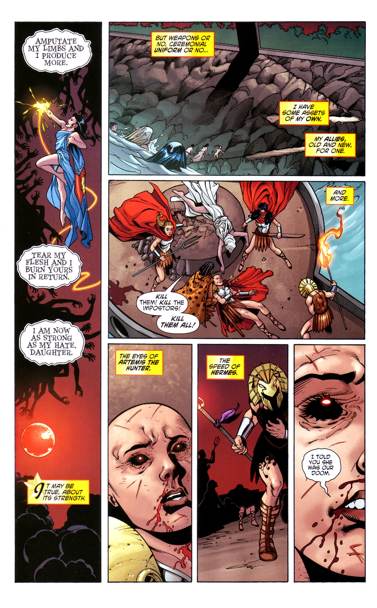 Read online Wonder Woman (2006) comic -  Issue #39 - 19