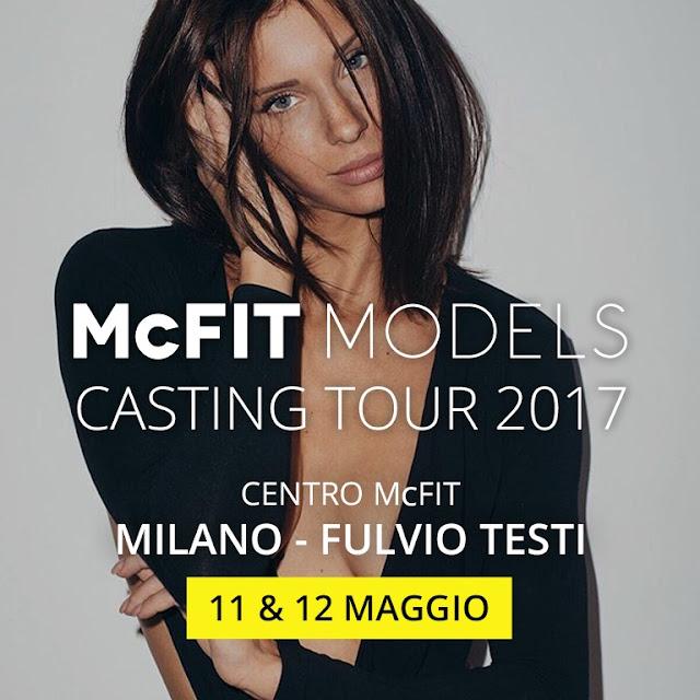 mcfit palestra casting models