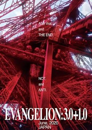 Evangelion: 3.0+1.0, último filme de Rebuild of Evangelion, ganha novo vídeo promocional e previsão de estreia