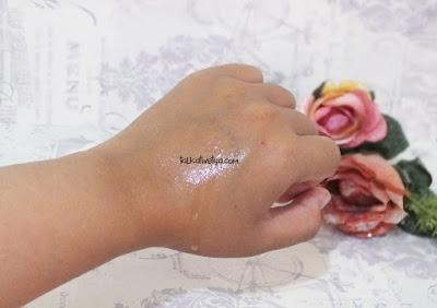 hasil spray kangen water pada kulit
