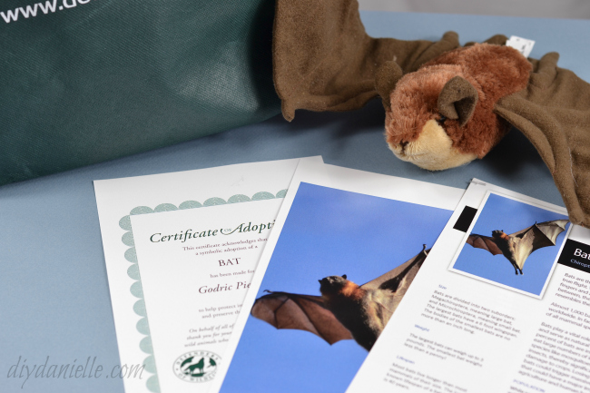 Donation to Defenders.org: Certificate, Plush, and Gift Bag