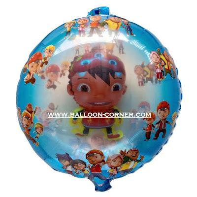 Balon Foil Karakter Boboiboy 2 in 1