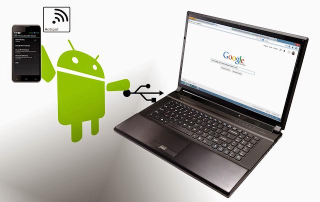 Cara Menjadikan Android Menjadi Modem Lewat USB Thetering Dengan Mudah