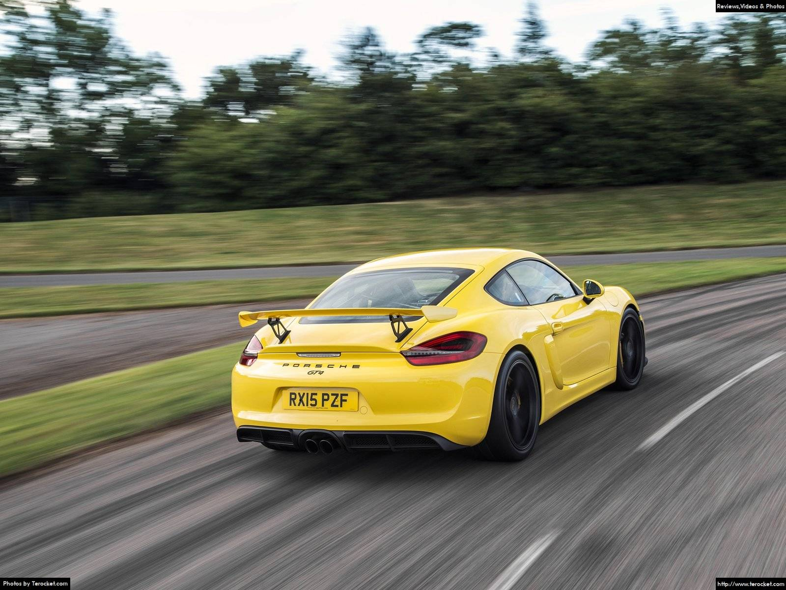 Hình ảnh xe ô tô Porsche Cayman GT4 2016 & nội ngoại thất