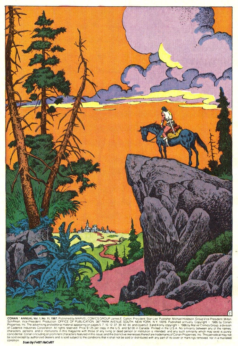 Conan the Barbarian (1970) Annual_11 Page 1