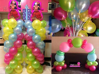 Maona themed Balloons