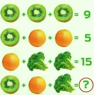 Brain Teasers to solve Maths equations