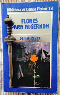 Portada del libro Flores para Algernon, de Daniel Keyes