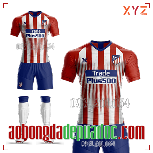 Áo Atlentico Madrid 2019 Sân Nhà