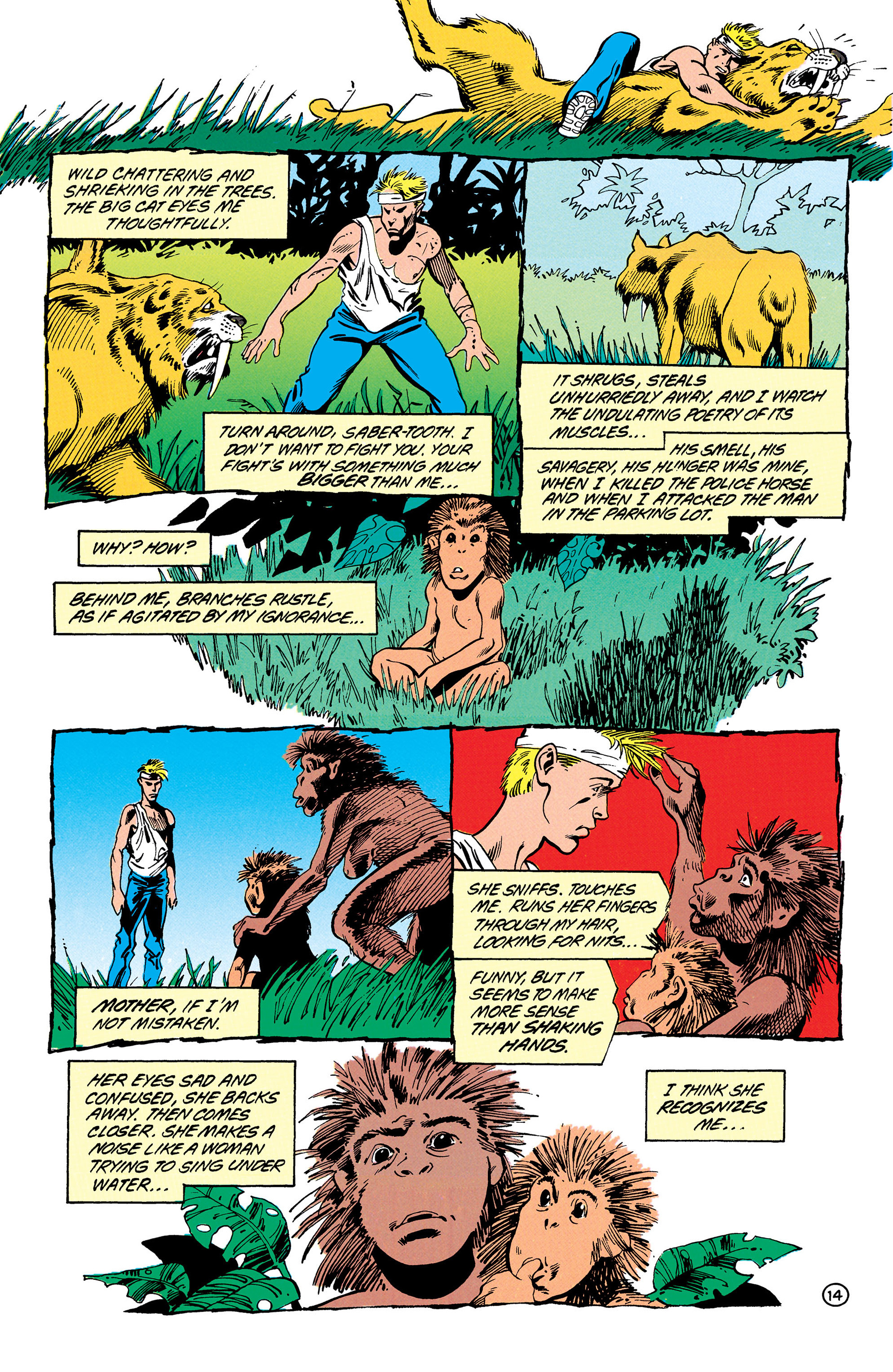 Read online Animal Man (1988) comic -  Issue #30 - 15
