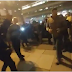 Protesters beat up women and men exiting an inaugural event. #TrumpInauguration