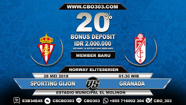 Prediksi Bola Sporting Gijon VS Granada 28 Mei 2018