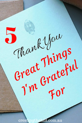 What are you grateful for? Here's my five greatest blessings