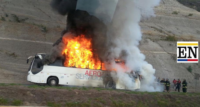 bus incendio oyacoto collas