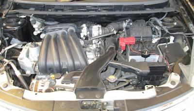 Foto Mesin Nissan Grand Livina 1.5 Liter