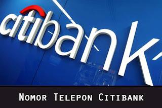 Nomor Telepon Citibank CS 24 Jam