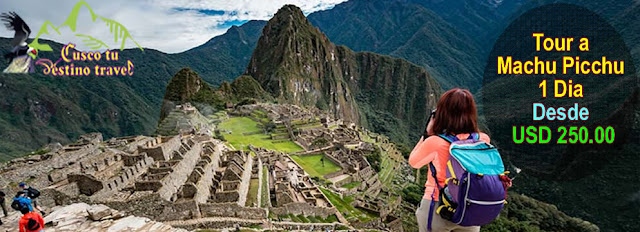 Paquete de Viaje Machu Picchu 1 Dia