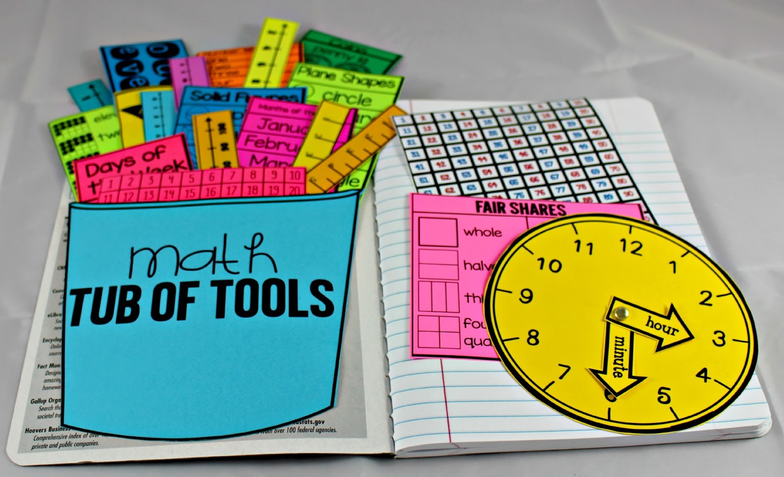Math Tools For Reference