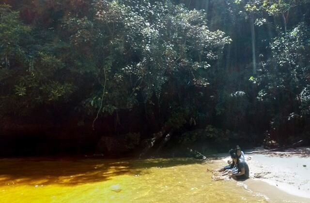 air terjun tujuh tingkat riam dait