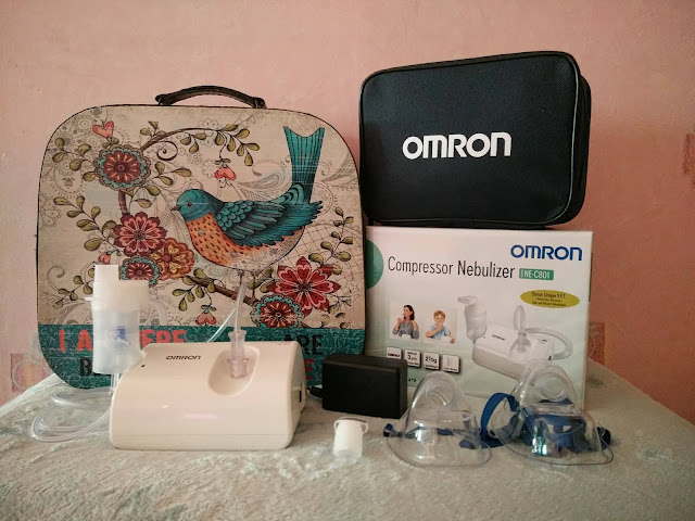 OMRON NE C801 Compact Air Nebulizer Review