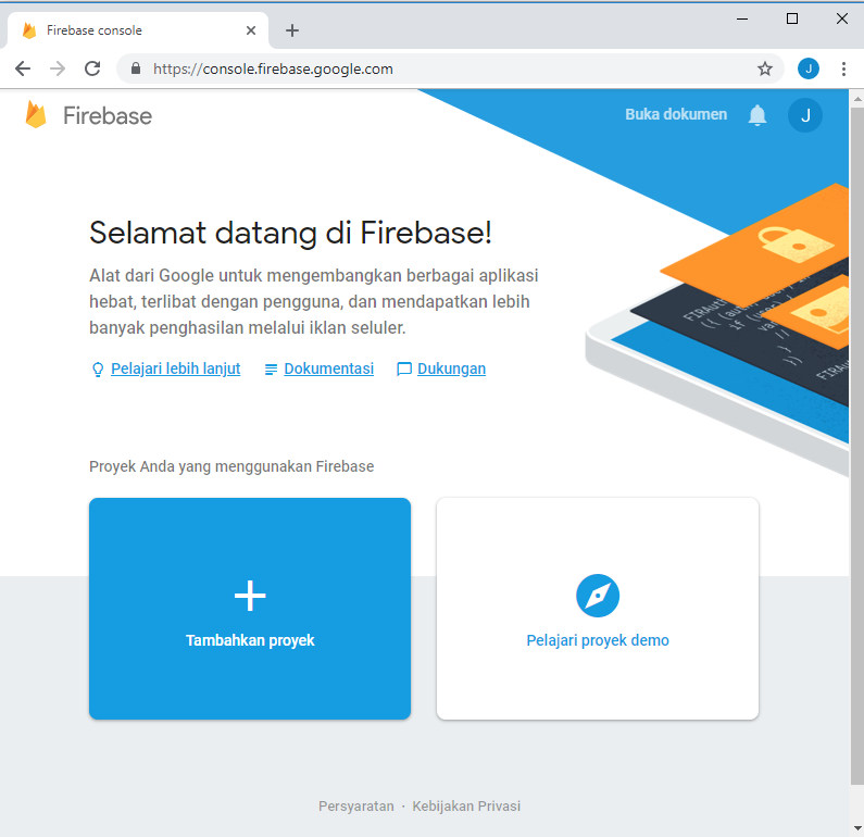 Menghubungkan Firebase ke Appybuilder - SANBERS STUDIO