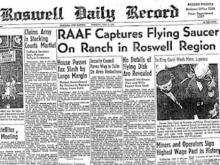 Caso Roswell, Ufologia, Extraterrestres, Ovnis
