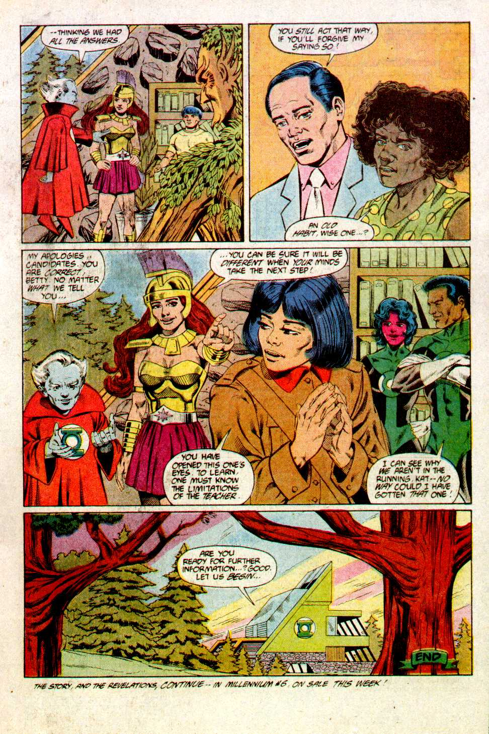 Read online Secret Origins (1986) comic -  Issue #23 - 23