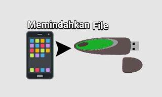 Cara memindahkan file ke flashdisk dari hp