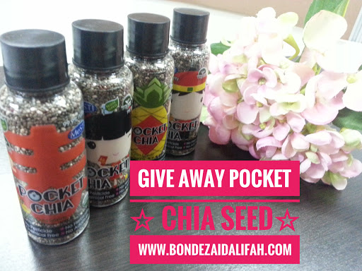 GIVE AWAY POCKET CHIA SEED