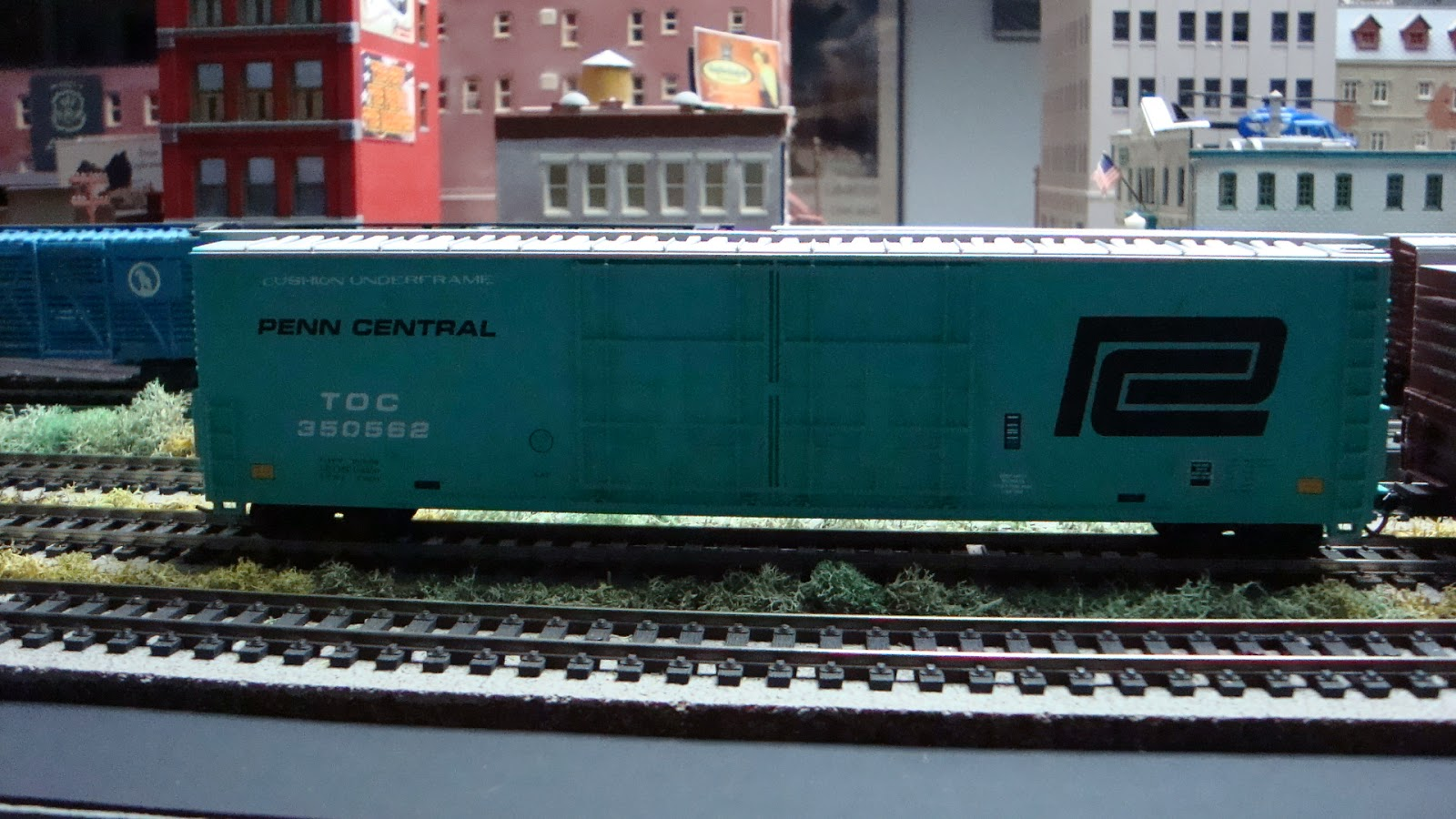New York Central Train Layout: 2015