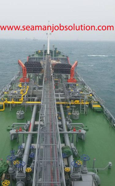 Welding job requirements for tanker ship - Seaman jobs