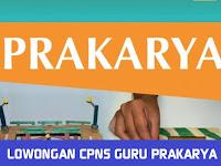 LOWONGAN CPNS GURU PRAKARYA SE  INDONESIA TAHUN 2018