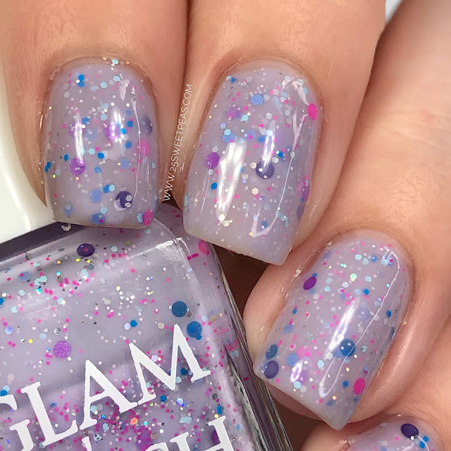 Glam Polish 25 Sweetpeas
