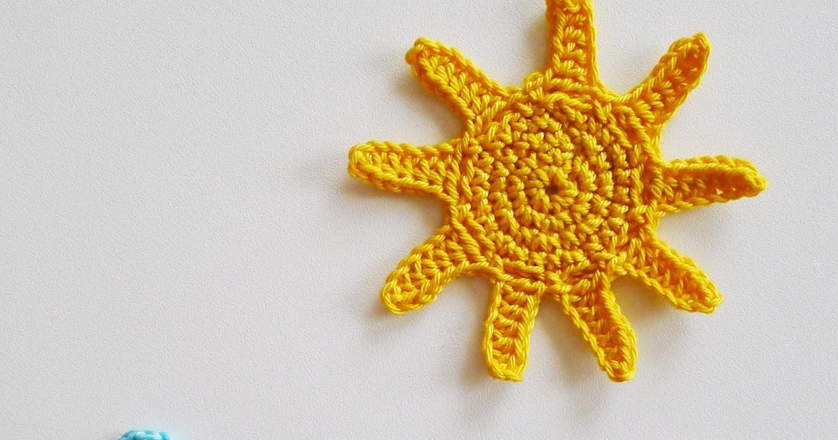 Süße Häkelideen Sonne Häkeln