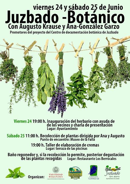 Juzbado botánico botánica