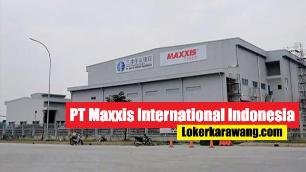 PT Maxxis International Indonesia Bekasi
