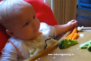 Videos de Olivier: toma 3. Bebés, BLW y baby led weaning