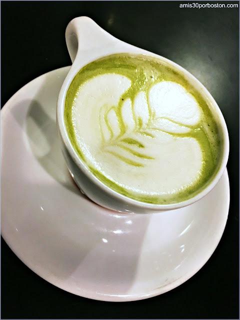 Matcha en Cafeterías de Boston: Diesel Cafe
