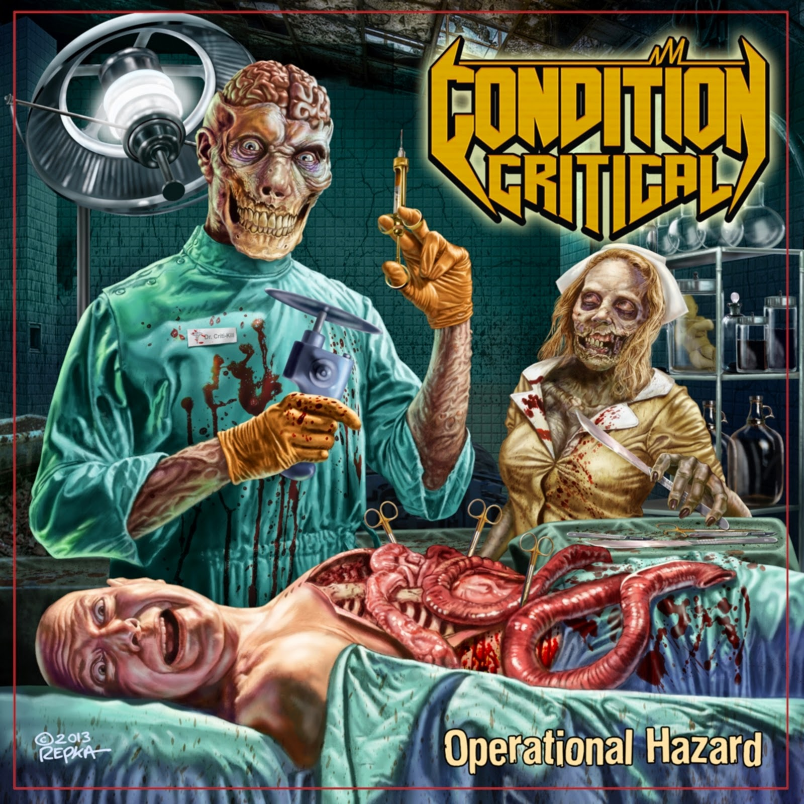 Metal Spirit: [VIDEO] Condition Critical - Parasitic Torment