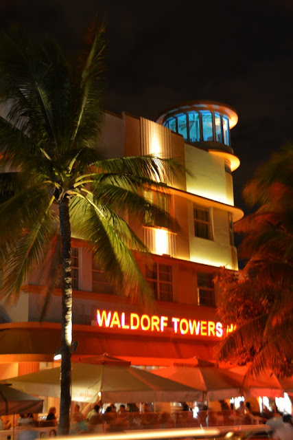 South Beach by Night Waldorf Towers