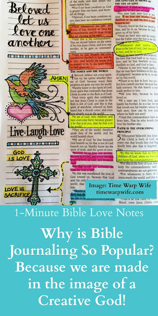 The Benefits of Bible Journaling