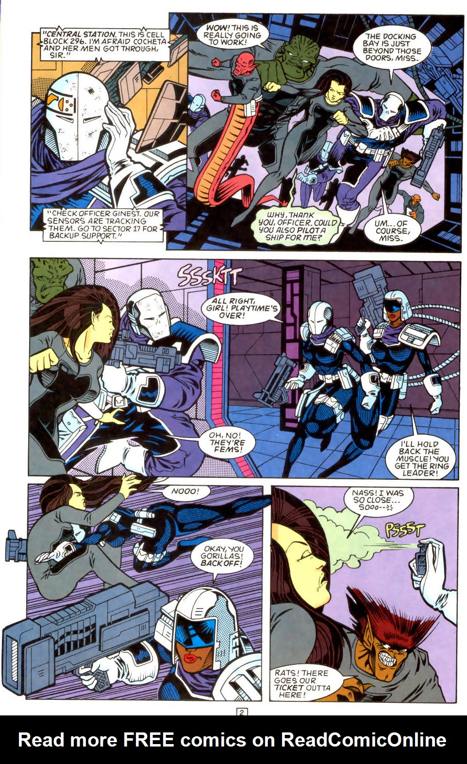 Legion of Super-Heroes (1989) 51 Page 2