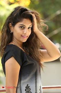 Actress Karuna Pictures in Jeans at Tholi Kiranam Press Meet  0033.JPG