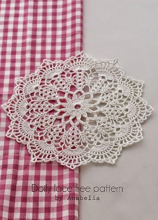 La magia del crochet carpetas a crochet - Como hacer tapetes de ganchillo ...