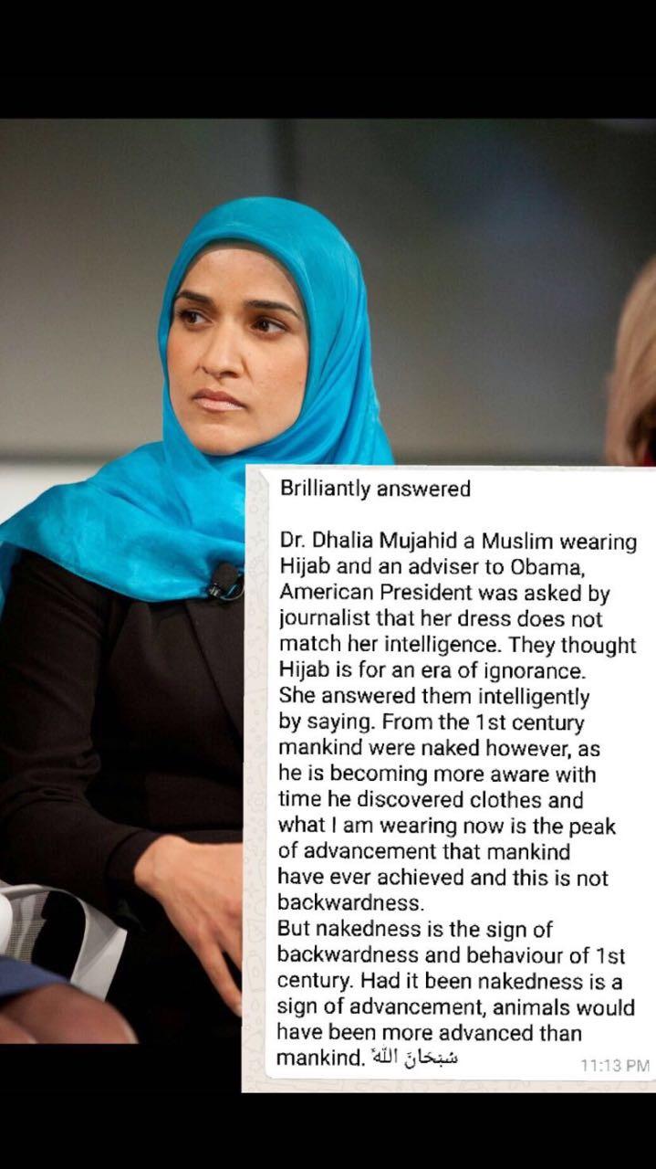 why muslim wearing hijab