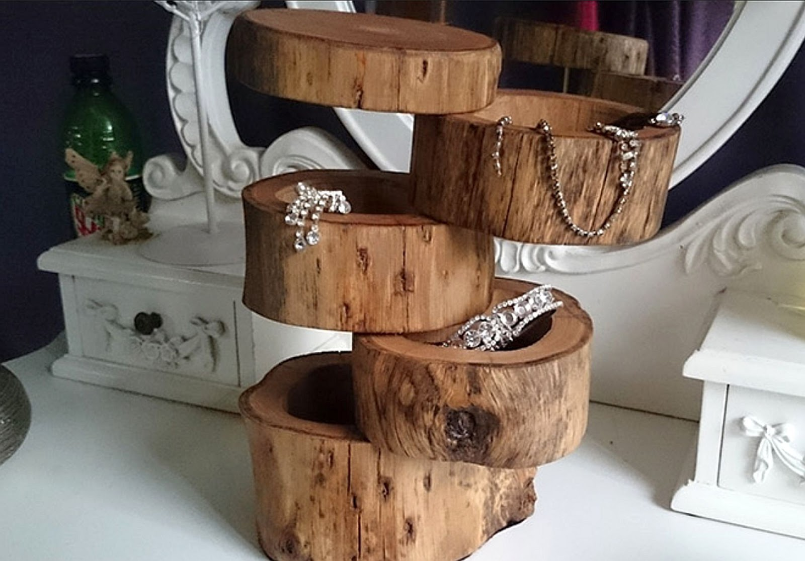 Unique Wooden Jewelry Boxes Customs silverspikestudio