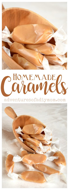 Soft and Chewy Homemade Caramels