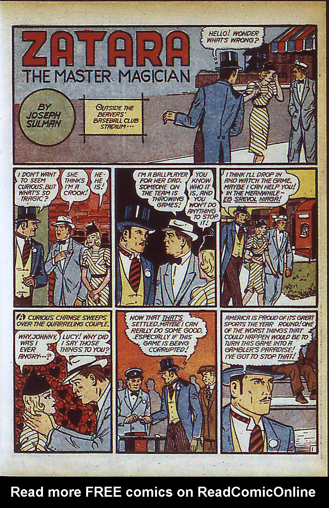 Read online Action Comics (1938) comic -  Issue #37 - 57