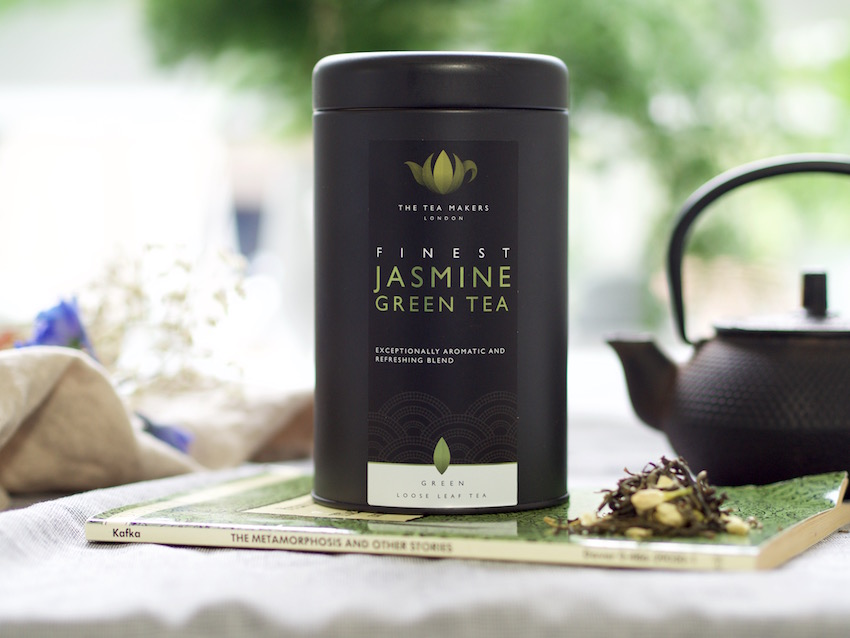 loose leaf jasmine tea