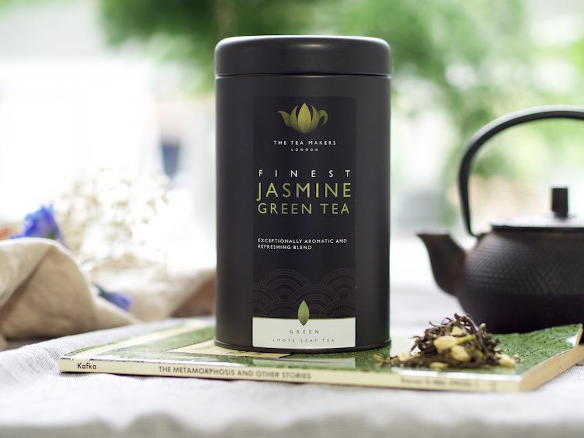 loose leaf jasmine tea
